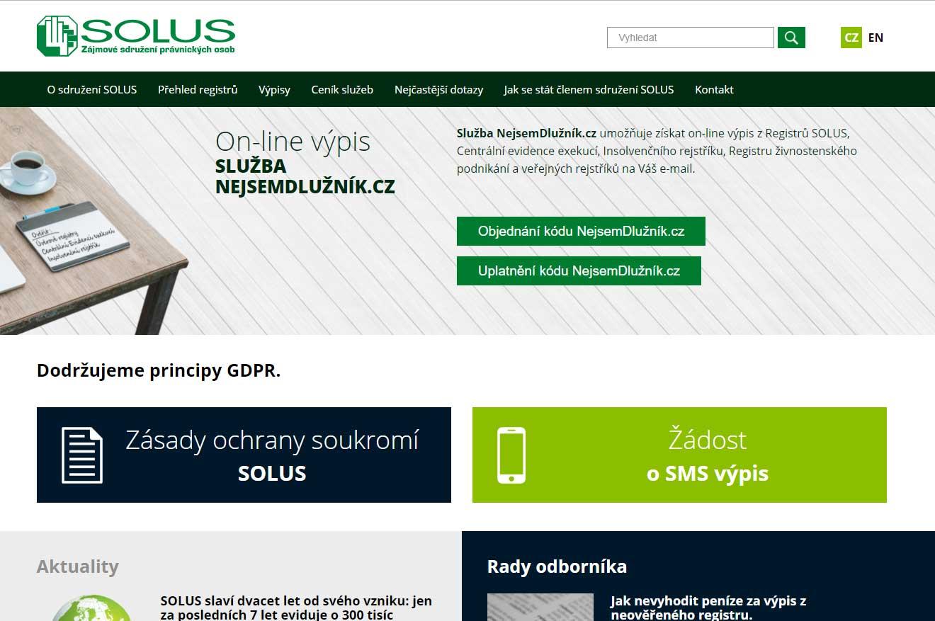 Registr SOLUS